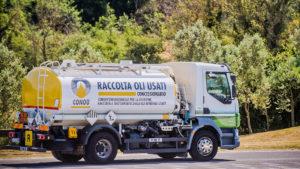 CONOU raccoglie e ricicla l'olio usato