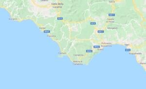 Mappa Lucania