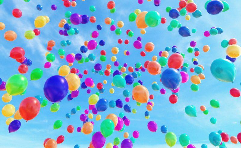 I palloncini finiscono nella pancia degli uccelli marini